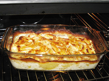 Zapecene brambory